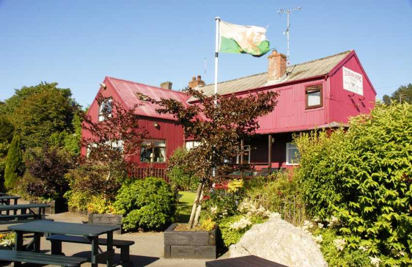 Tafarn Sinc, Rosebush up in the Preselli Hills is the highest pub in Pembrokeshire. It has wonderful old world charm and serves delicious home cooked food