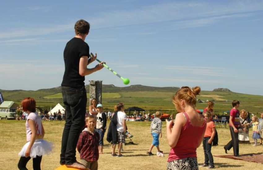 Fun for all the family at The Really Wild Festival held near St Davids