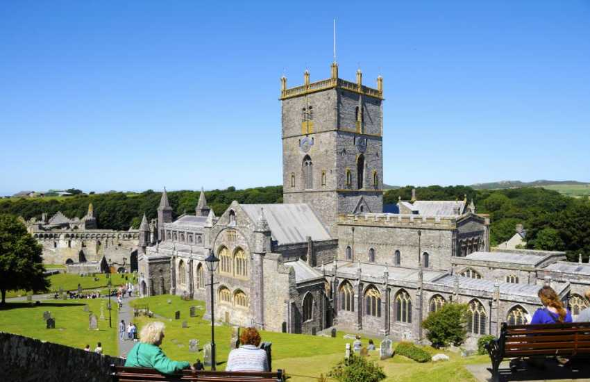 Magnificent St Davids Cathedral has been a focus of pilgrimage and worship for hundreds of years. Do visit the Cathedral shop and enjoy a delicious meal in the Refectory