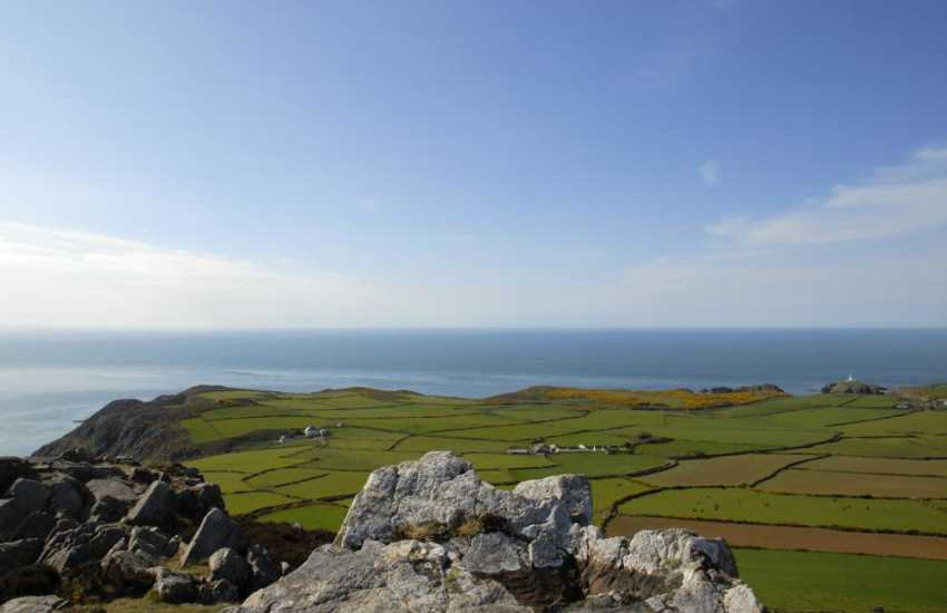 Nearby Garn Fawr (N.T) - walk to the top and the view out over Strumble Head is breathtaking