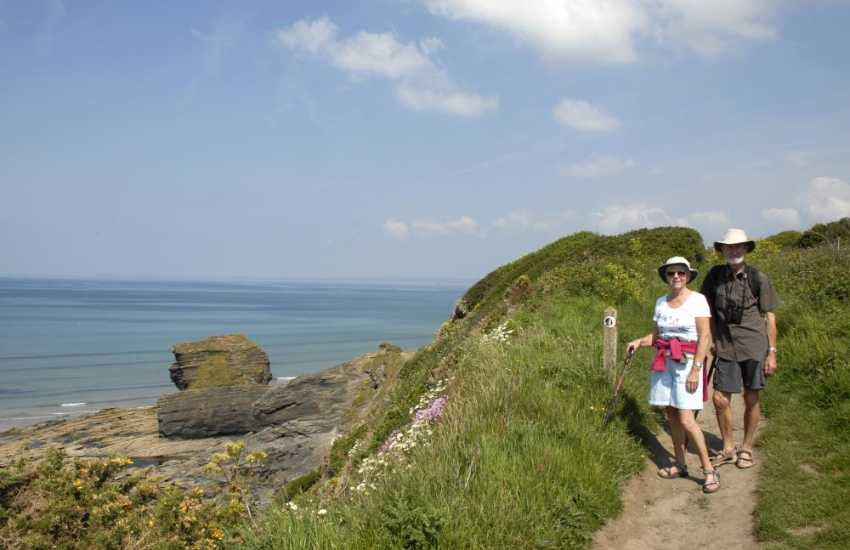 The Pembrokeshire Coast Path offers fantastic walking and scenery
