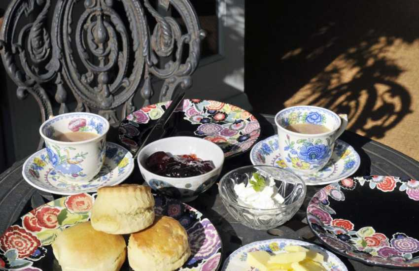 Nearby Hilton Court Gardens serve mouth-watering cakes and snacks in the Balcony Tea Rooms and The Gardener's Rest