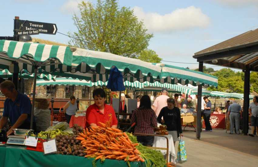 Award winning weekly Haverfordwest's Riverside Farmer's Market stocks some of the best locally grown Pembrokeshire produce