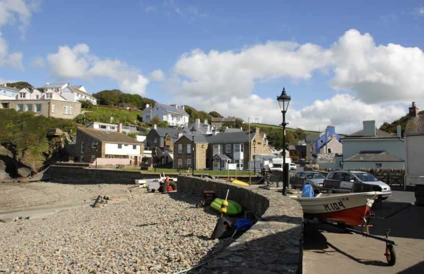 Little Haven is a picturesque seaside village just a short drive along the coast
