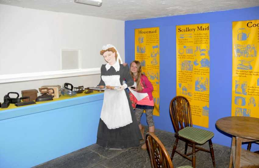 Experience life as it was in the Victorian times at Scolton Manor Museum near Haverfordwest