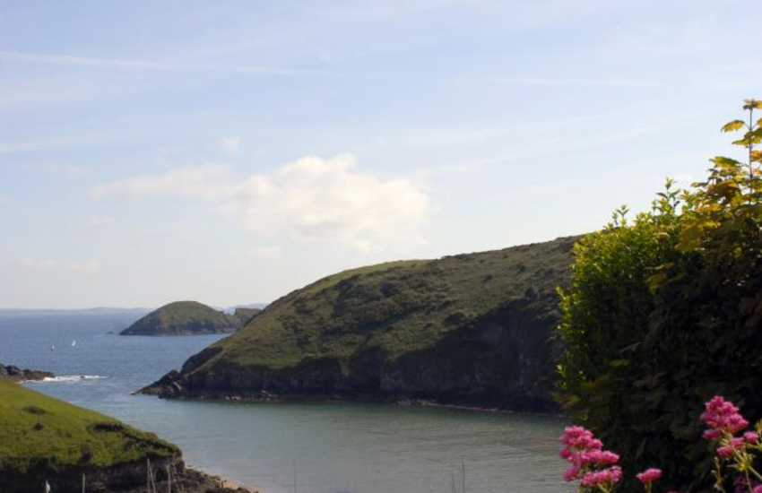 Solva Harbour from the Pembrokeshire Coastal Path
