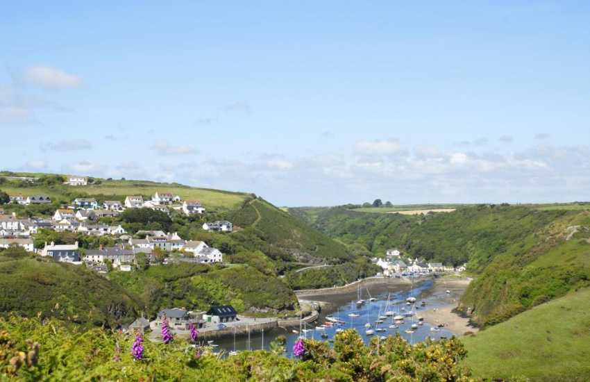 The picturesque harbour village, Solva