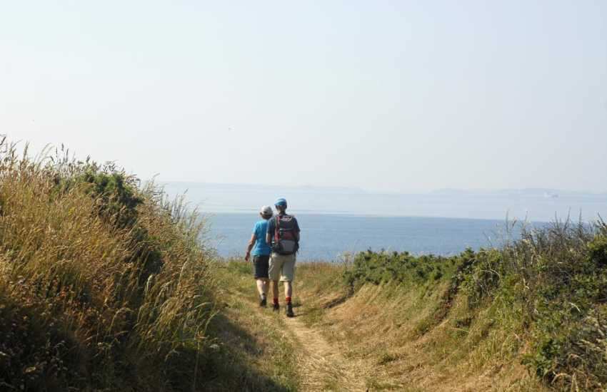 The Pembrokeshire Coastal Path offers fabulous clifftop walking