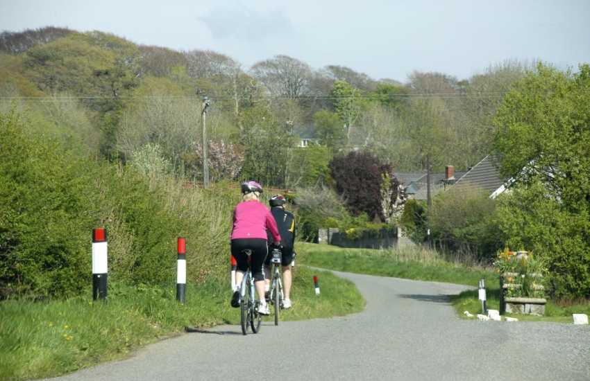 Porthgain to Middle Mill near pretty waterside village of Solva is an enjoyable 12 mile bicycle ride