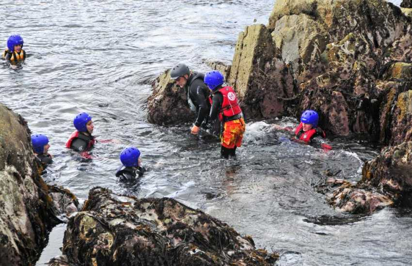 Activities include surfing, climbing, canoeing, caving and coasteering  for the more adventurous of you!