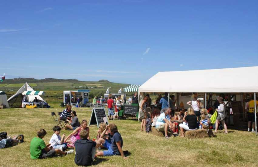 Enjoy a family day out at the annual Really Wild Festival near St Davids