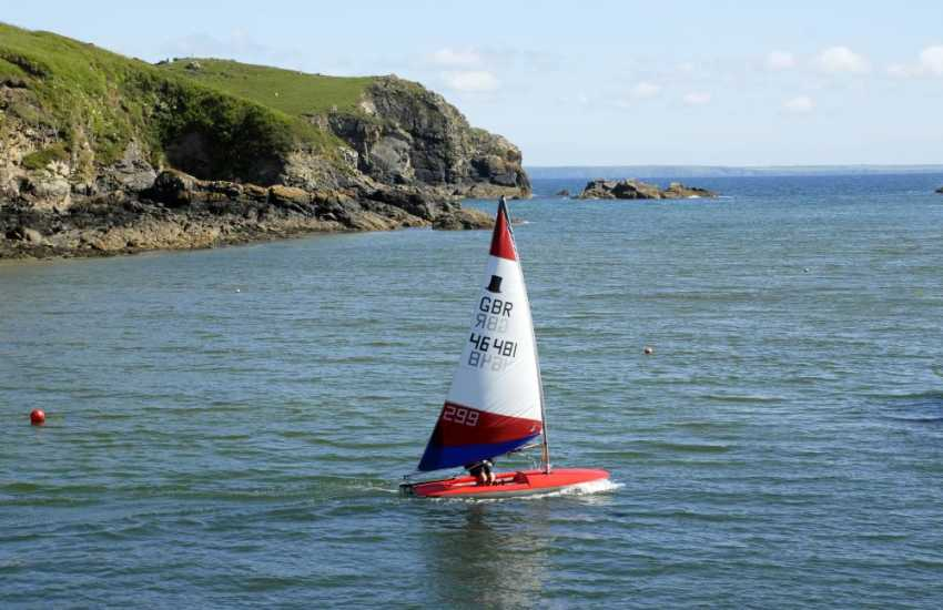 Solva Sailboats School will teach you how to sail or even drive a small powerboat
