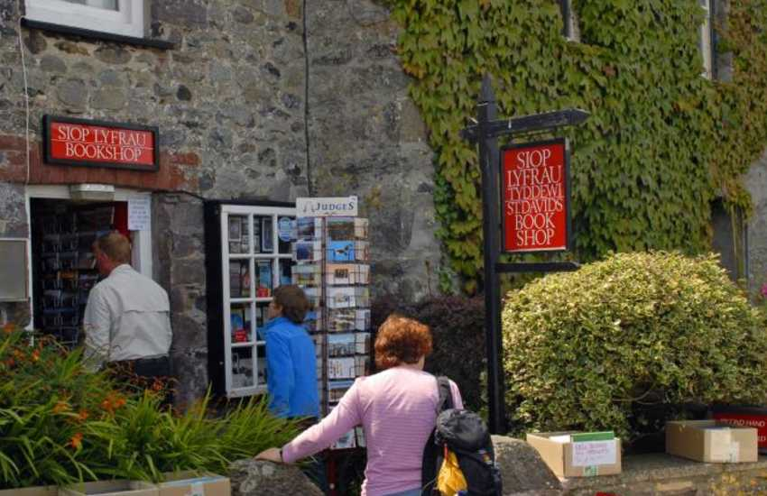 Do peep into the old Book Shop, just up from St. Davids Cathedral, for some interesting finds