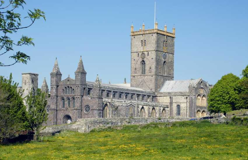 Magnificent St Davids Cathedral plays host to world wide festivals and concerts throughout the year and a 'must' to visit
