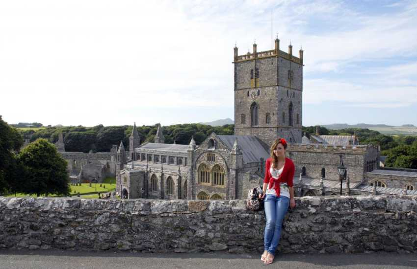 St Davids is Britain's smallest city with a magnificent cathedral, ruined Bishops Palace and a variety of interesting little shops, cafes and art galleries in which to browse