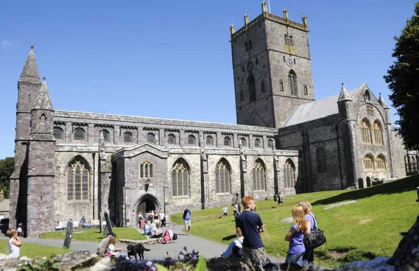 The magnificent Cathedral in the City of St Davids