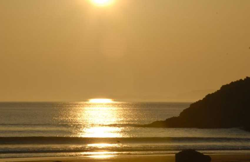 Whitesands Bay, St Davids Peninsula - linger awhile and enjoy the wonderful sunsets