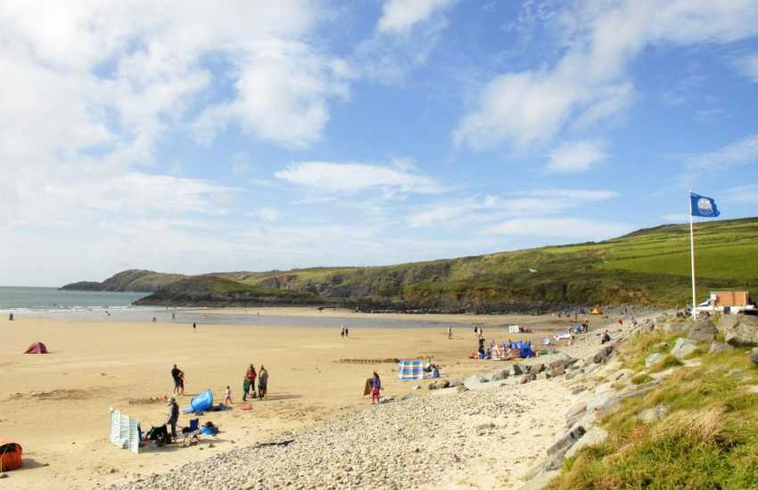 Whitesands Beach, St Davids (Blue Flag) - a spectacular beach popular with families and water sport enthusiasts