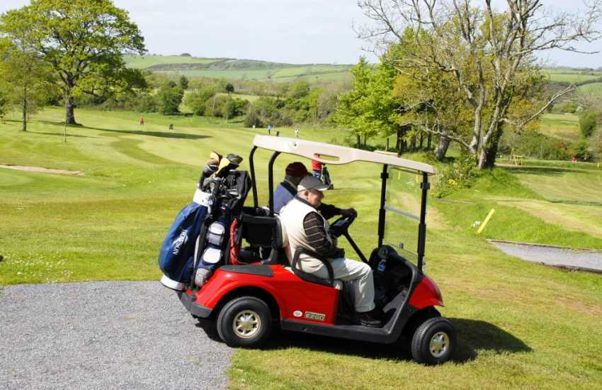 Golf at Priskilly Forest - a 9 hole course set in 40 acres of mature parkland with a clubhouse and 14th century manor house
