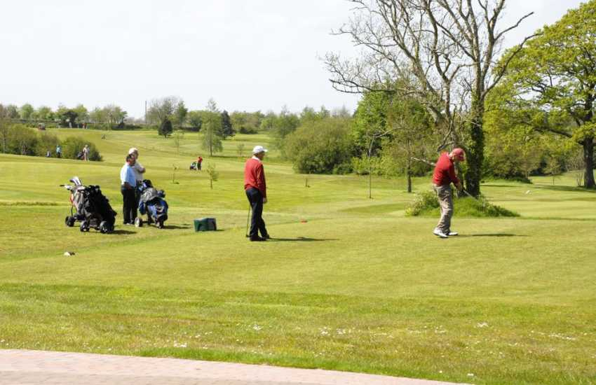 Trefloyne Golf Clubs is a challenging 18 hole course set in beautiful mixed woodlands - The Orangery Restaurant serves the best of local produce and the Terrace Bar is a truly relaxing spot at the end of the day