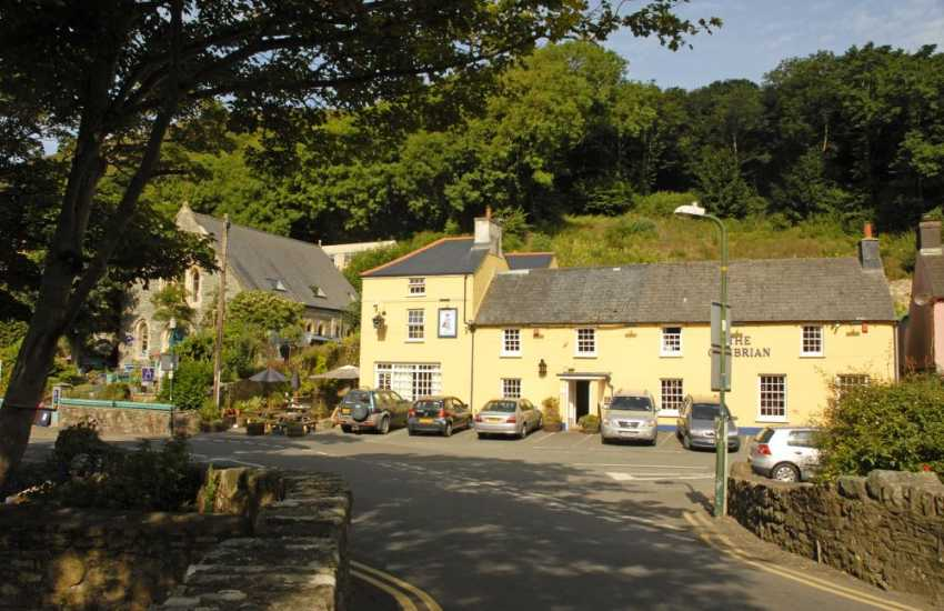 The Cambrian Inn - a 16th century village pub near Solva harbour offers service with a smile and excellent food