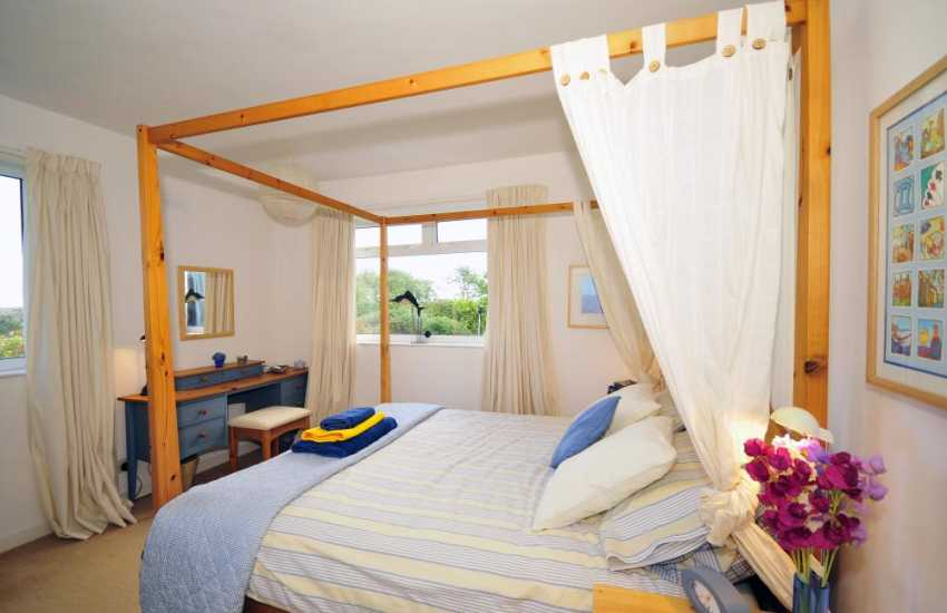 Double bedroom-sea views in Northern Anglesey