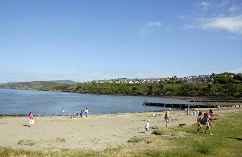 Goodwick Sands - Fishguard Harbour