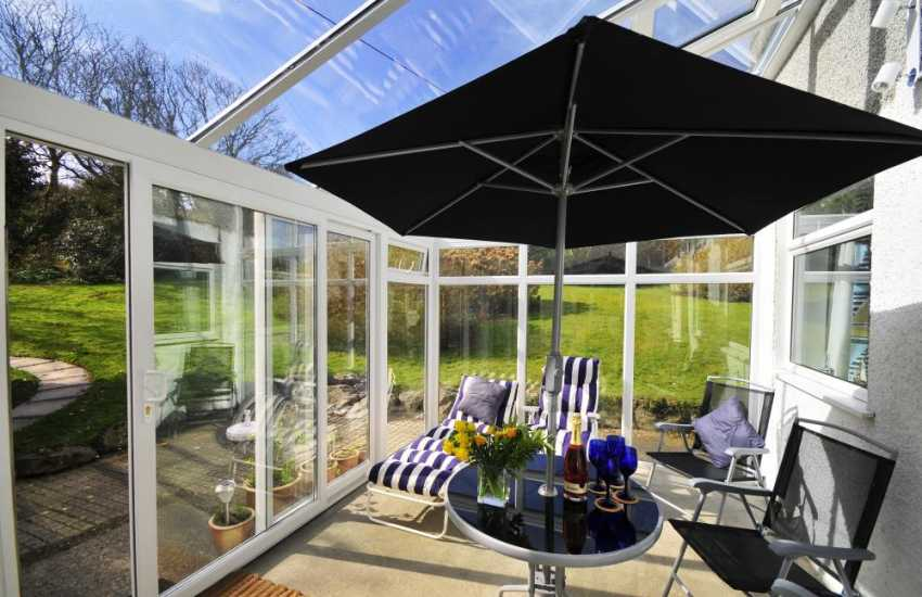 North Wales holiday home - Conservatory