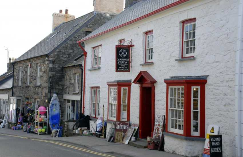 The Carningli Antique Centre in Newport - lots of interesting memorabilia, art gallery and second-hand book shop