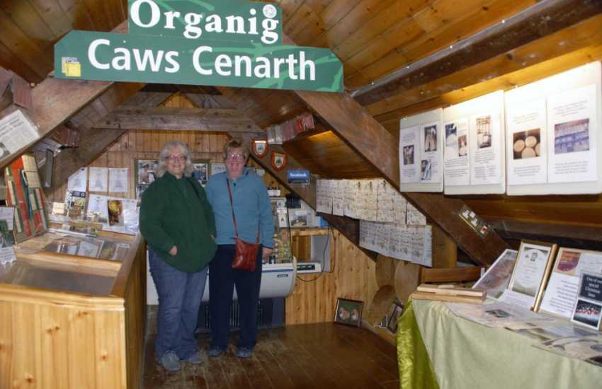 Do visit Caws Cenarth and watch the fascinating process of this award winning organic Welsh cheese being made