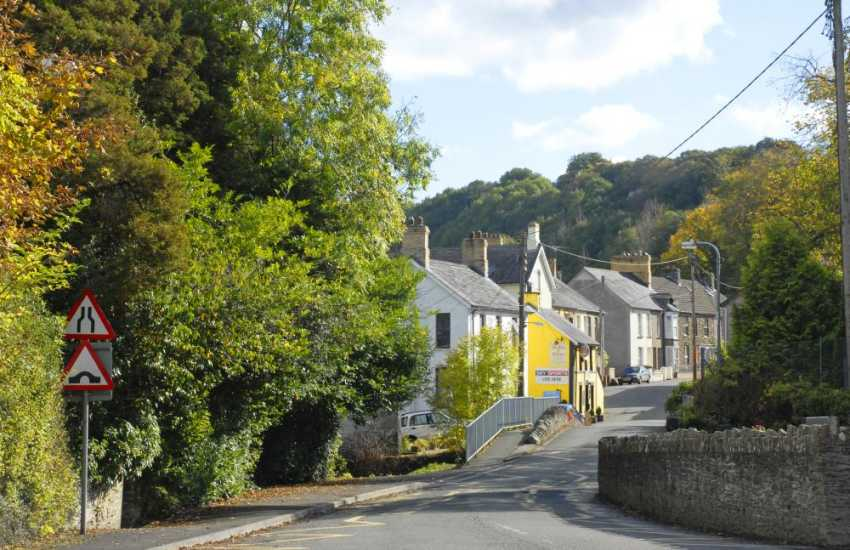 Rural Carmarthenshire- enjoy tranquil woodland walks, sleepy villages and traditional market towns