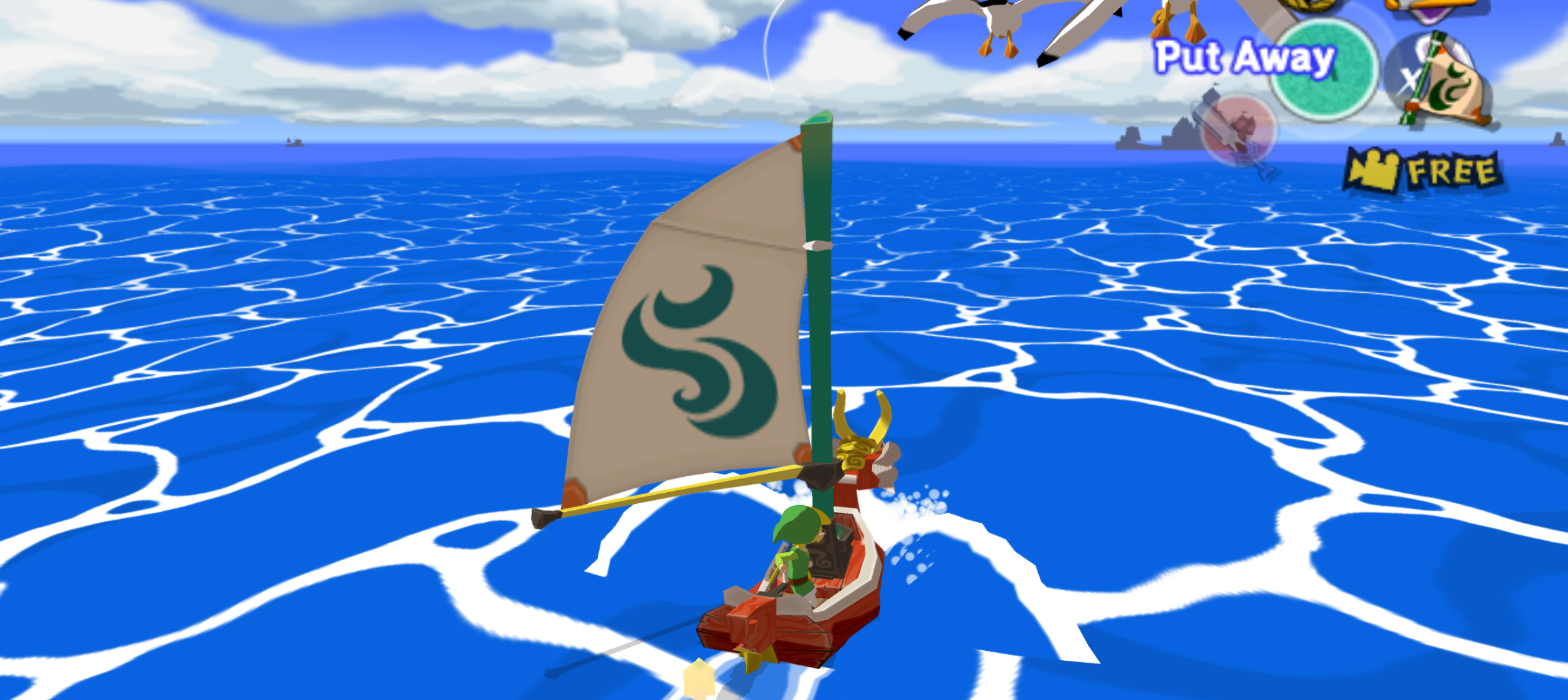 Iiiiiii'm sailing awayyyyy...