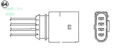 Фото запчасти Кислородный датчик (Zirconium) OZA510-V2
