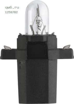 Фото запчасти Лампы BAX 12597 12V 1.2W BAX8,3s/1,35 black B2 (2) STANDARD