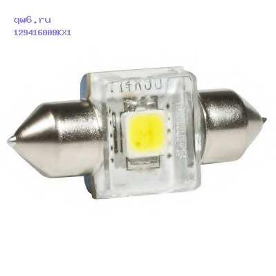 Фото запчасти Лампа Fest X-treme Vision LED 30мм 12941 6000K X1 (1шт) 38722330