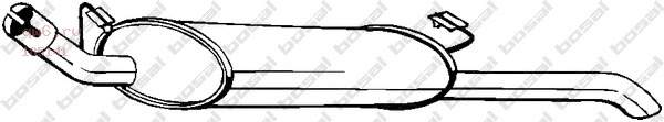 Фото запчасти Глушитель задняя часть OPEL VECTRA_A 90-95 V1.8i,2.0i, 185-141
