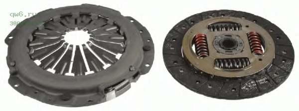 Фото запчасти Комплект сцепления Land Rover Defender 2.2-2.4 4x4 (07-)