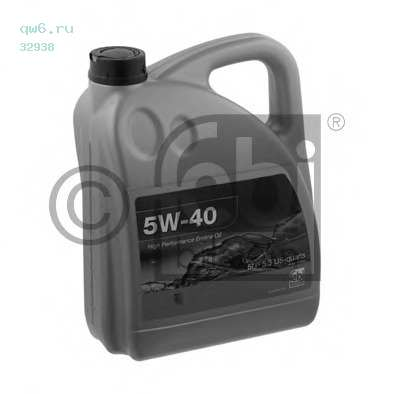 Фото запчасти 5W-40 5 л VW 502.00/505.00 масло моторное