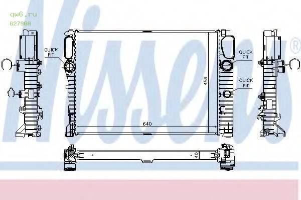 Фото запчасти Радиатор двигателя MERCEDES W211 E320CDI-E420CDI