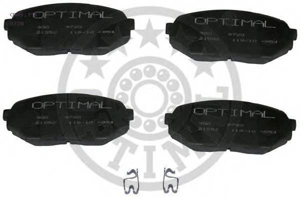 Фото запчасти Колодки тормозные дисковые комплект