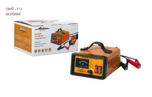 Фото запчасти Зарядное устройство 5А 6В/12В, амперметр, ручная регулировка зарядного тока ACH-5A-06
