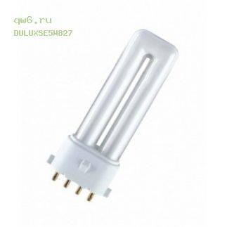 Фото запчасти Лампа люминесцентная DULUX S/E 5W/827 2G7 2700K 4050300017624