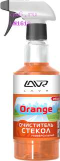 Фото запчасти Очиститель стекол универсальный Orange Glass Cleaner, триггер 500мл Ln1610