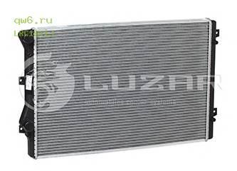 Фото запчасти Радиатор двигателя VAG Superb II (08-)/Passat B5 (05-)/Golf V (03-)/Golf VI (07-) 1.8TSi/2.0TSi LRc1811J
