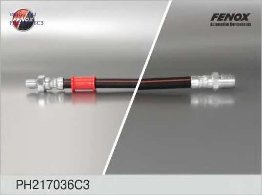 Шланг тормозной передний УАЗ 31519, 3160, 3163 PH217036C3 FENOX