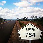 Rodovia LMG 754 Curvelo