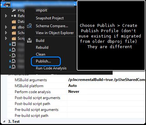 Continual Deployment of Visual Studio SqlProj - SQLServerCentral