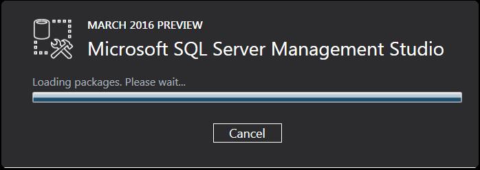ssms 2016 install