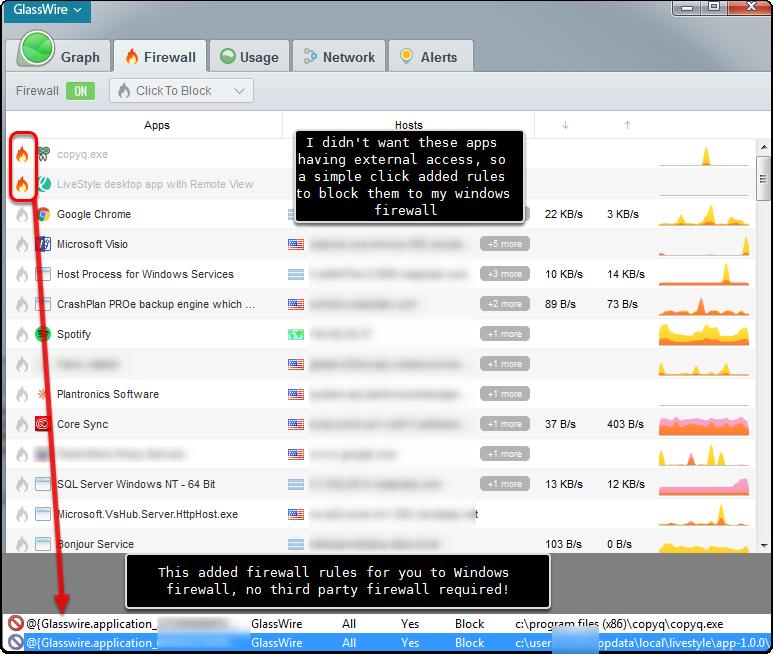 Easiest firewall tweaking I've seen