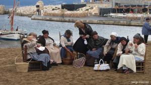 La pluja marca la vintena Festa de la Sal